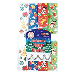Primary Teaching Services Christmas Paper Chain (Pack of 100)