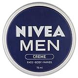NIVEA Men Creme 75 ml - Pack of 4
