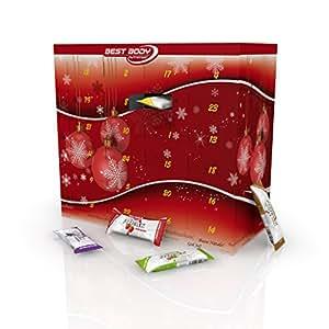 Best Body Nutrition Riegel Adventskalender befüllt, 1er Pack (1 x 1.4 kg)
