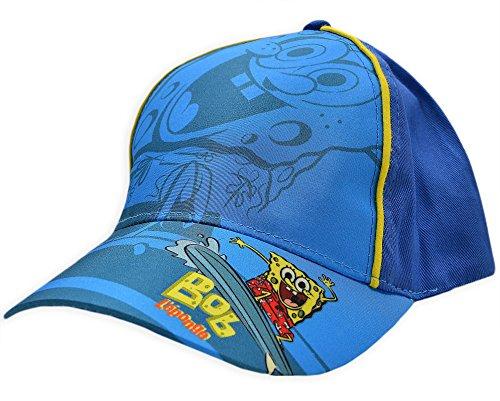 Garçons Bob L'éponge Bonnet été pour enfant casquettes de baseball New Bleu