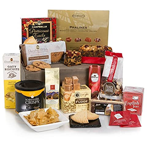 Bearing Gifts Gourmet Food Hamper - Luxury Hampers & Food Gift Baskets - Gift Idea's Include Birthday & Thank You