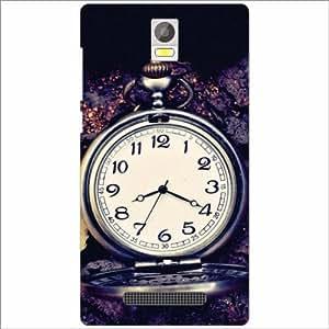 Xolo Era Back Cover - Silicon Vintage Clock Designer Cases