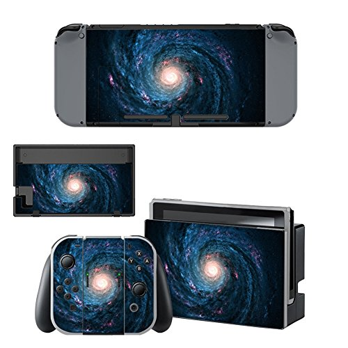 SKINOWNTM Vinyl Cover Decals Skin Sticker for Nintendo Switch - Galaxy Vortex Vortex Case Cover