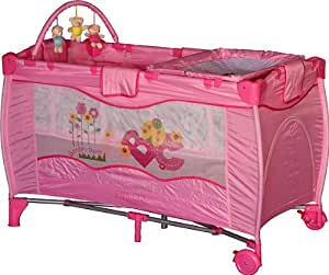 wohnstyle lit b b de voyage rose lit pliant parapluie lit voyage wohnstyle kids pour vos. Black Bedroom Furniture Sets. Home Design Ideas