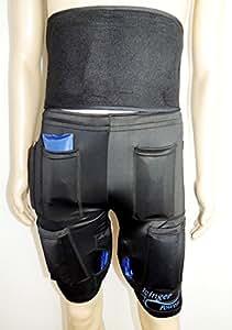 Pantaloncini dimagrenti refrigeranti 1400G + cintura refrigerante 450G - Permettono di eliminare grassi grazie al freddo - Migliore degli elettrostimolatori - Taglia S