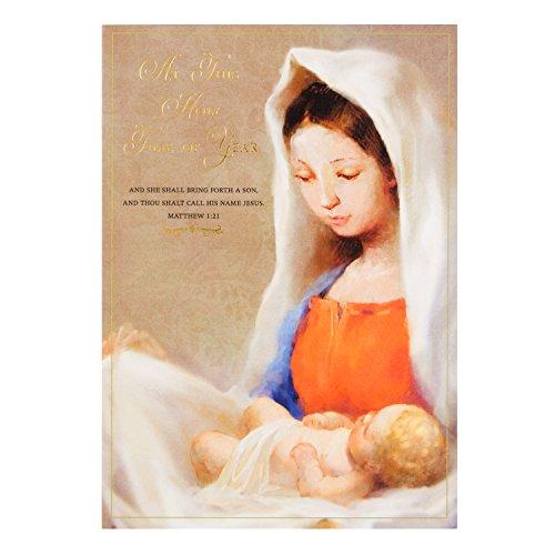 Hallmark Weihnachtskarte 'Heilige Zeit des Jahres'-Medium (Zeit Ornament Hallmark)