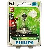 Philips 12342LLECOB1 Ampoule de phare LongLife EcoVision H4