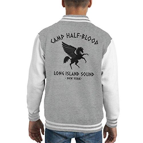Percy Jackson Camp Half Blood Kid's Varsity Jacket -