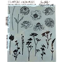 Stampers Anonymous cms269Tim Holtz Cling Sellos,, 7x 21,6cm