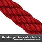 Handlaufseil Absperrseil 30 mm Farbe weinrot / dunkel-rot