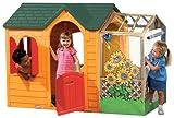 Little Tikes 490B0060 Spielhaus Fantasia - Farbe: Karamell