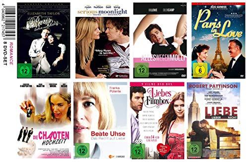 Romanzen-Set, 8 DVD's, 16 versch. Filme!, alles rund um Liebe und Gefühle