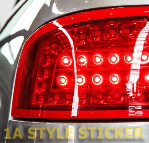 Rückleuchtenfolie ROT 1 Meter x 30cm Folie Scheinwerfer - Rückleuchten -Red Vinyl tint NEW LOOK