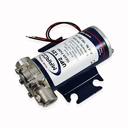 Marco UP2 | 600 l/h | 1,5 Bar | 12 V | kompakte und robuste Transferpumpe | Druckwasserpumpe | Wasserpumpe | Dieselpumpe | Gartenpumpe | Bootspumpe | Wohnmobilpumpe