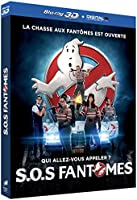 S.O.S Fantômes [Combo Blu-ray 3D + Blu-ray 2D version longue + DVD + Copie digitale UltraViolet]
