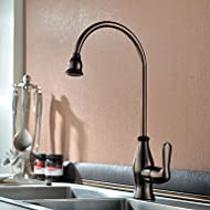 SHUYOU® Contemporary Oil-rubbed Bronze One Hole Single Handle Kitchen Faucet