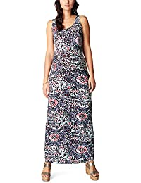 Noppies Damen Umstandskleid Dress Sl Long Pip Aop 70316