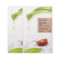 [MIZON] Joyful Time Essence Mask SNAIL 23g*2pcs / Contains snail mucus filtrate