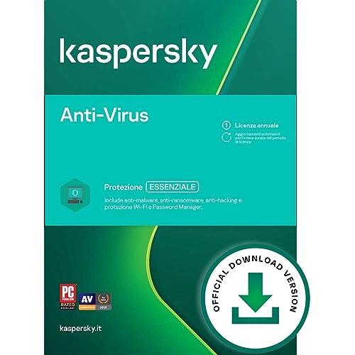 Kaspersky Anti-Virus 2021 | 1 PC | 1 Anno | PC | Codice d'attivazione via email