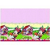 Plástico Jam Packed Mantel de Minnie Mouse de Disney, 1.8m x 1,2m