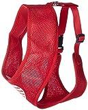 Mirage Pet Products Hundegeschirr mit Herz-Flagge, aus weichem Netzgewebe, Größe XL, Rot