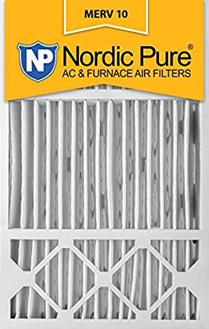 Nordic Pure 16x25x5, MERV 10, Honeywell Replacement Air Filter, Box of 2 by Nordic Pure