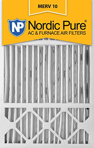 Nordic Pure 16x 25x 5, Merv 10, Honeywell/Lennox Ersatz-Luftfilter, 2Stück (Elektrostatische Luftfilter)