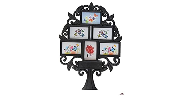 d3dce95b45e Buy Empreus Black 6 Family Tree Photo Collage Frame Online at Low Prices in  India - Amazon.in