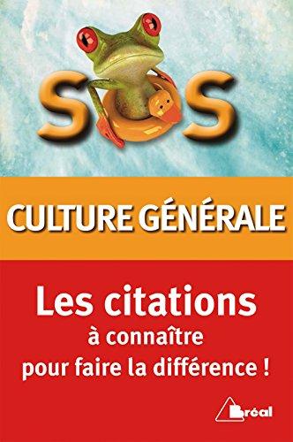 SOS citations de culture générale