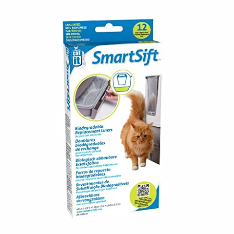 Catit Senses Smart Sift abbaubare Einlagen für die Abfallwanne 40x25x22cm,