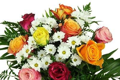 Geburtstag Blumenstrauß - Bunte Tüte von Blumenversand Rosenbote auf Du und dein Garten
