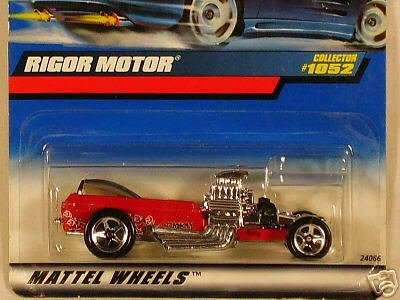 Mattel Hot Wheels 1999 1:64 Scale Game Over Series Red Twin Mill II Die Cast Car 4/4 -
