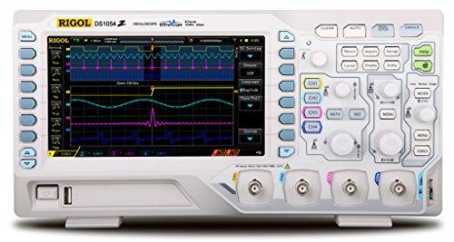 Rigol DS1054Z Digital Oscilloscopes - Bandwidth: 50 Mhz, Channels: 4 by Rigol