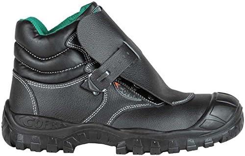Cofra TA090 – 000.w43 soldadura zapatos,Marte, tamaño 9, Negro