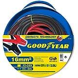 Goodyear 820405 Câbles de démarrage 16mm² 3m 12/24V 200AMP Essence 2,5L DIN 72553-16