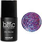BMC Flakey Iridescent Duotone Glitter Gel Nail Lacquers - Snake Charmer: Slitherine