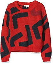 Catimini CP18095 Pull, Rouge (Vermilion 36), 8 Ans (Taille Fabricant:8A) Fille