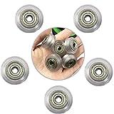 NO LOGO LMY-QDL, 5pcs CNC Klare Polycarbonat-V-Nut ZAHNRIEMENRAD Linearlager Extrusion for Ender 3 Pr 3D-Drucker-Teile Zubehör Zubehör