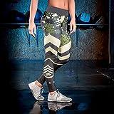 Yinew Joga Running Sport und Training Hosen Farbtarnung Druckhose Yoga Hose Damen