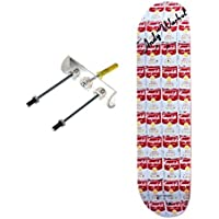 Sk8ology Skateboard Display Kit (Tube) - No Drill Bit by Sk8ology