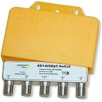 Golden Media DiSEqC Relais 4x1 mit Wetterschutzgehäuse