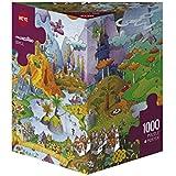 Heye 29230 - Dreieckspuzzles 1000 Teile Idyll, Guillermo Mordillo