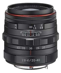 Pentax Obiettivo HD DA, 20-40 mm, F/2,8-4 ED DC WR, Edizione Limitata, Nero
