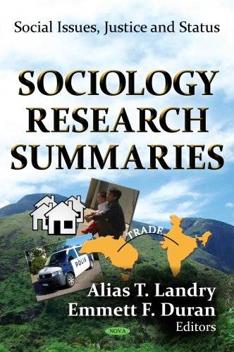 SOCIOLOGY RESEARCH SUMMARIES (Social Issues, Justice and Status)