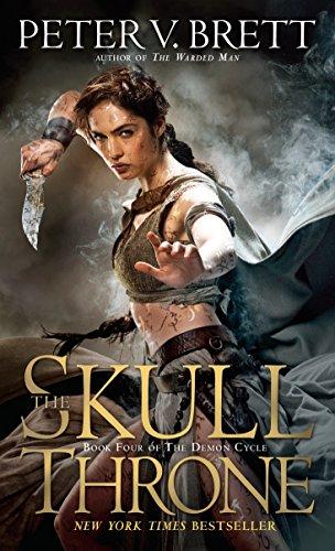 The Skull Throne: Book Four of The Demon Cycle (Tür-brett)