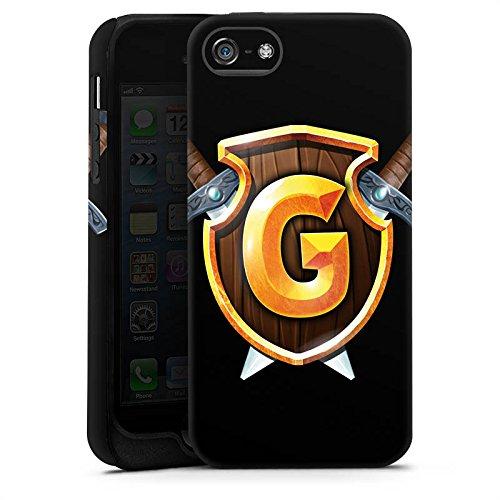 Apple iPhone X Silikon Hülle Case Schutzhülle GommeHD Fanartikel Merchandise Youtube Tough Case matt