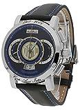 Paul Picot Herren-Armbanduhr Technograph FC Internazionale Limited Edition Chronograph Datum