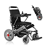 Portable Electric Wheelchair Lifetime Reversing Radar Warranty Lightweight Long Driving Range 15km Foldable Power Wheelchair Li-ion Battery 20A 24V 250W*2 for The Aged Disabled
