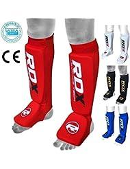 RDX Schienbeinschoner Fußfortsatz für Kampfsport, Satra Zertifiziert Schienbeinschutz