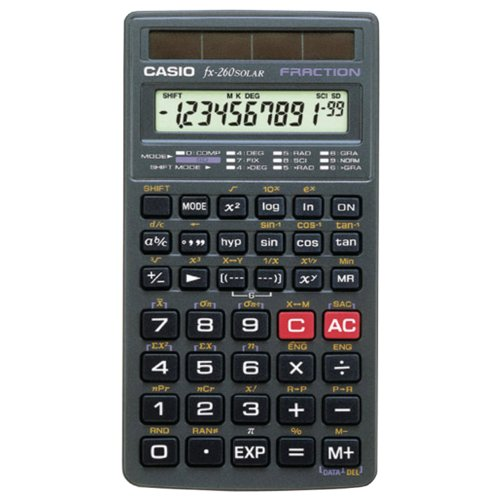 Casio FX260SLR Calculatrice